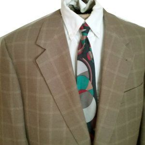 New ZANELLA Sport Coat MADE IN ITALY 44L taupe